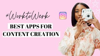 Best Apps For Creating Content | Britney Nicole