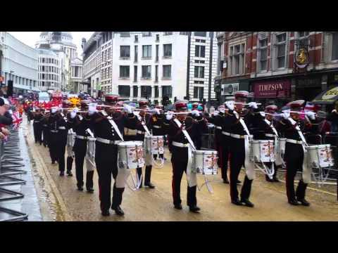 Pride of Ballinran Lord Mayors Parade London 2015