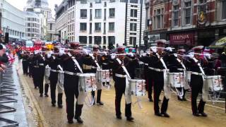 Pride of Ballinran Lord Mayors Parade London 2015