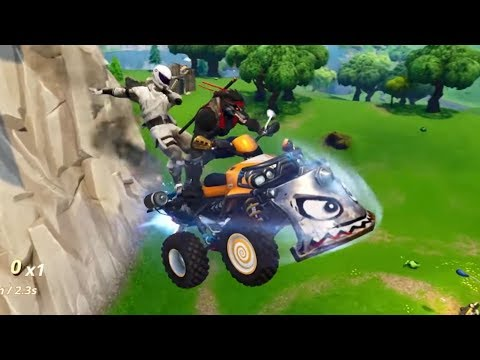 Reacting To *NEW* Quadcrasher Vehicle TRAILER + Patch Notes (Fortnite V6.10)
