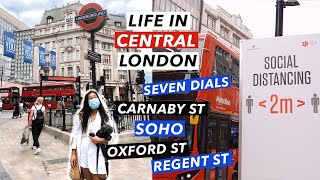 What Is Central London Like Right Now? | Living in London 2020 Vlog
