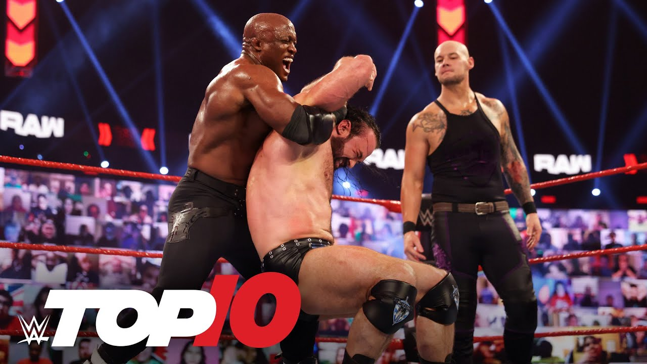 Top 10 Raw moments: WWE Top 10, March 29, 2021