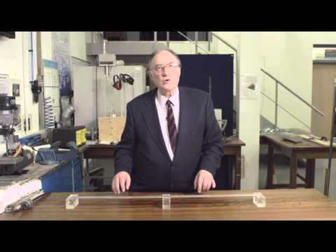 Where in the beam do the prestressing cables go? - BE of PreS Conc: Prof Burgoyne Pt 4 (Ext version)