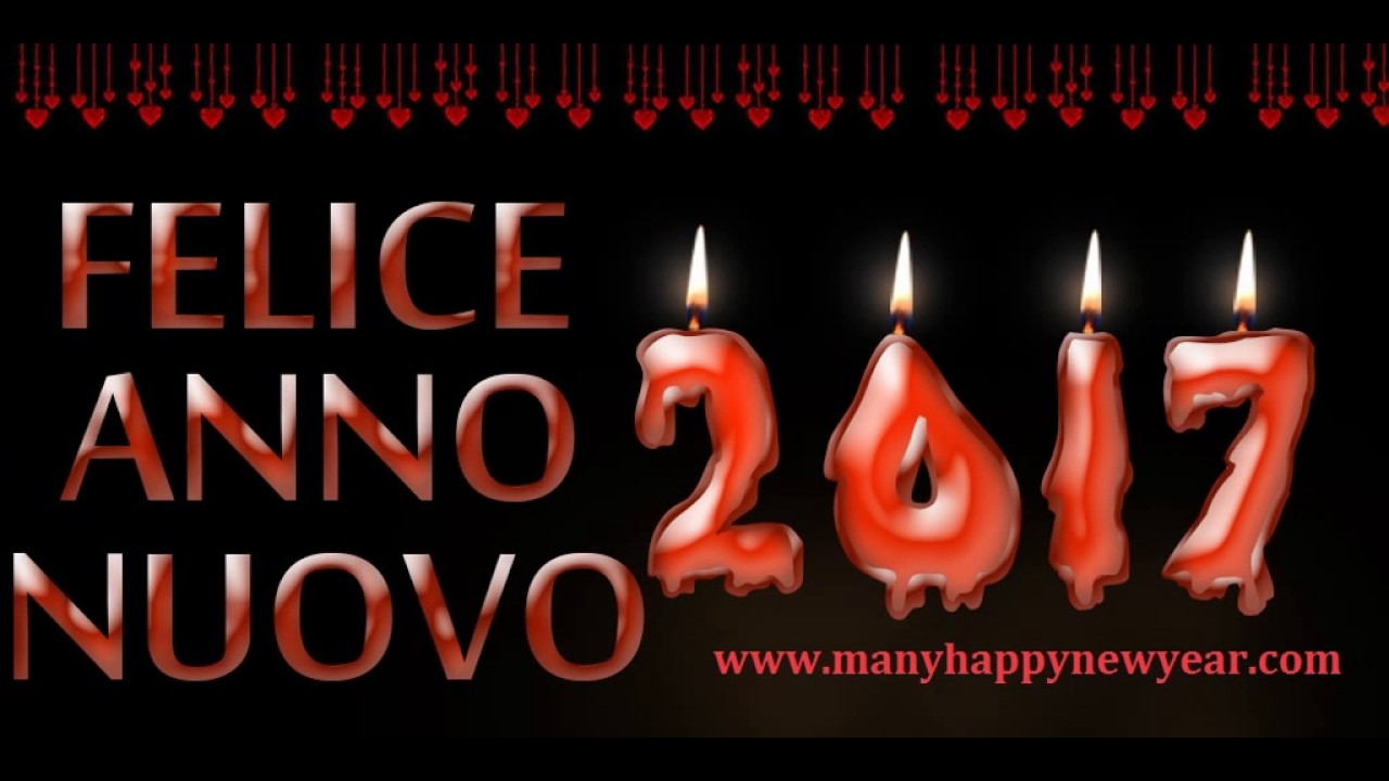 happy new year 2017 in italian wishes images messages