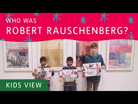 Make Art Out of Anything – Robert Rauschenberg | Tate Kids