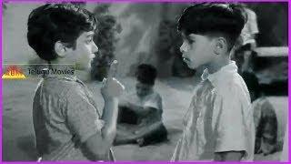 Mooga Nomu Telugu Movie Scene - ANR , Jamuna