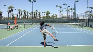 Carlos Hassey - College Tennis Recruiting Video Fall 2017