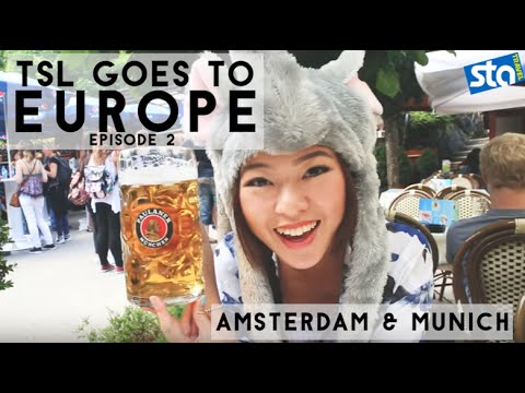 What To Do In Amsterdam & Munich For The First Time - #TSLGoesEurope with STA Travel Part 2