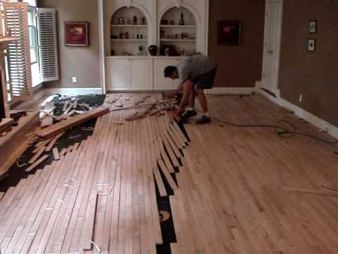 Hardwood Floor Installation Youtube