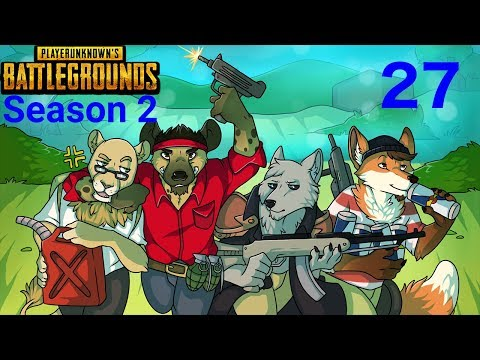NLSS Crew Games: PLAYERUNKNOWNS BATTLEGROUNDS Season 2 Part 27!