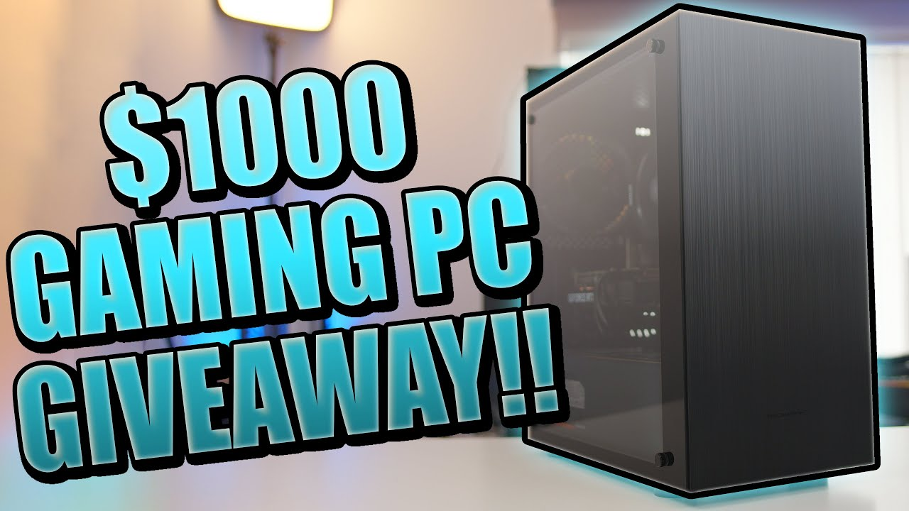 Download INSANE $1000 Gaming PC Build 2020 + GIVEAWAY!