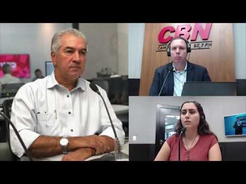 Entrevista CBN Campo Grande (01/04/2020) - Reinaldo Azambuja, governador de MS