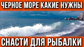 Снасти для рыбалки на Черном море Что взять в отпуск