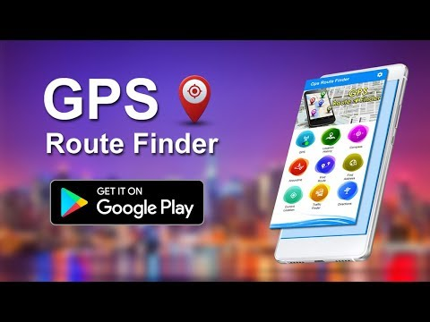 GPS Route Finder - Maps Navigation & Location Tracker