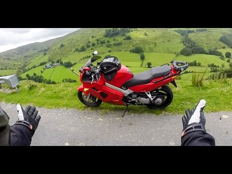 AWESOME MOTORCYCLE TRIP #1 - North/Mid Wales - Ponderosa