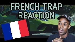 AMERICAN REACTS TO FRENCH TRAP  (NISKA,SOOLKING,ALONZO)