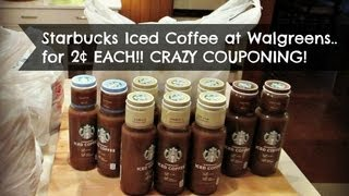 Coupon Crazy! Starbucks Iced Coffee Just 2¢ At Walgreens!!!