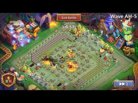 Castle Clash Here Be Monsters AH