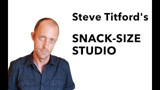 INTRODUCING THE SNACK-SIZE STUDIO