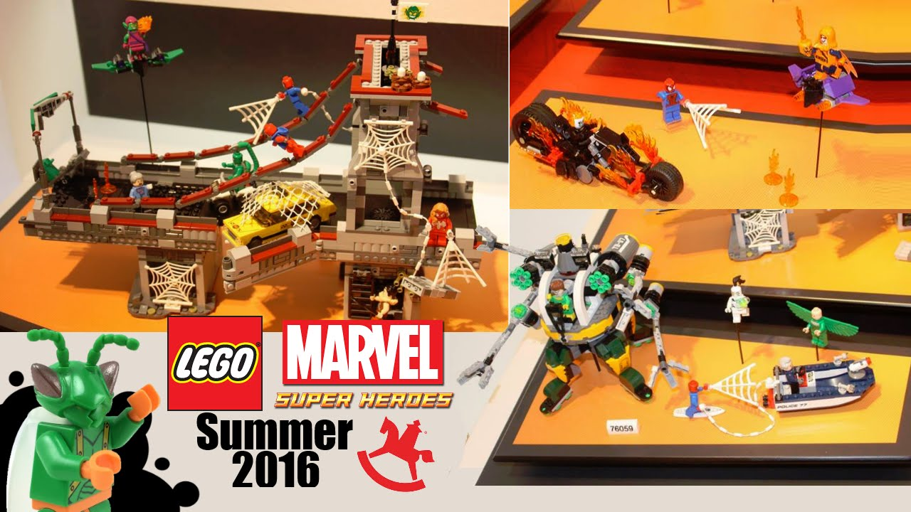 LEGO Marvel Super Heroes Summer 2016 sets: My Thoughts ...