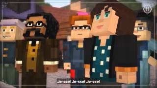 Minecraft Story Mode Episode 4 Reuben Death Scene