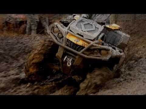 Can-Am Outlander XMR vs Arctic Cat Mud Pro: Rematch!