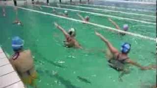 Спортпланерка по синхронному плаванию