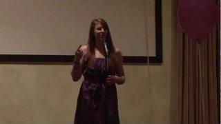 "Griff's Run & Gun for a Cure 2011, Amanda Ottaway performs ""Godwinks"""