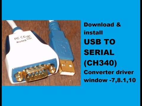 Usb To Serial (db9) Converter Driver Download And Installing step by step tutorial.