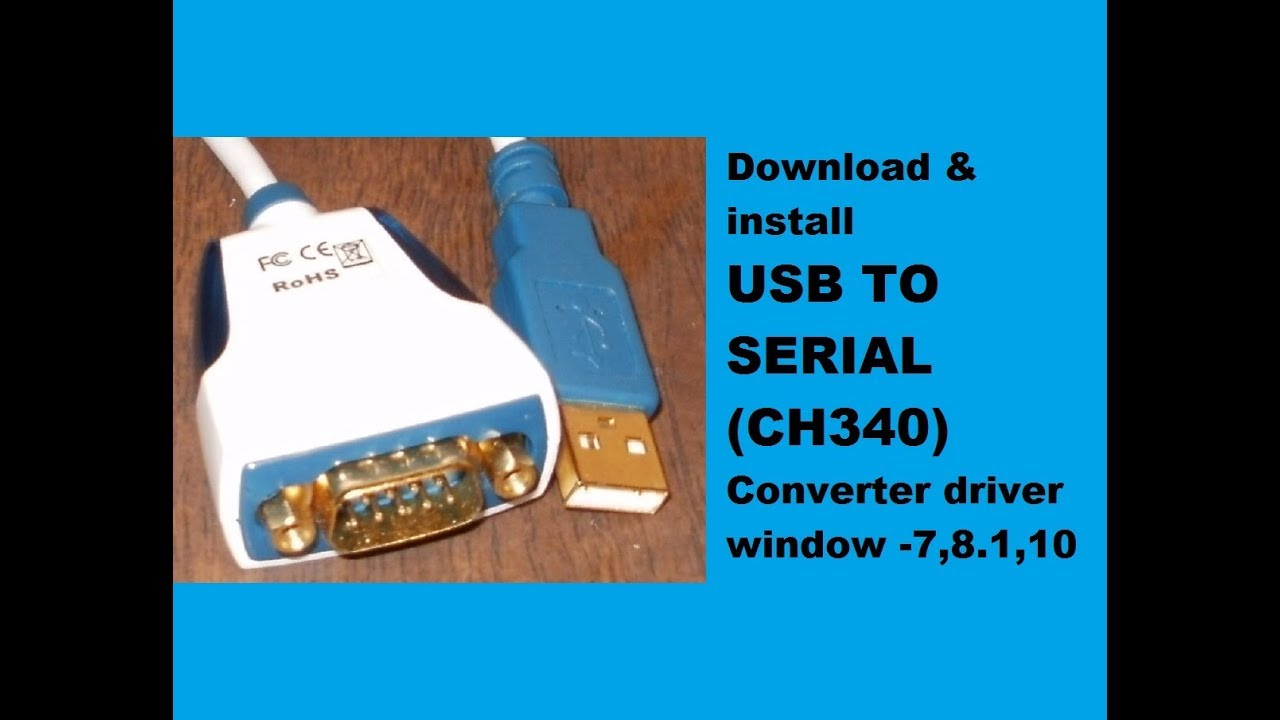 USB-TO-SERIAL POUR WINDOWS PORT 7 COMM PROLIFIC TÉLÉCHARGER DRIVER