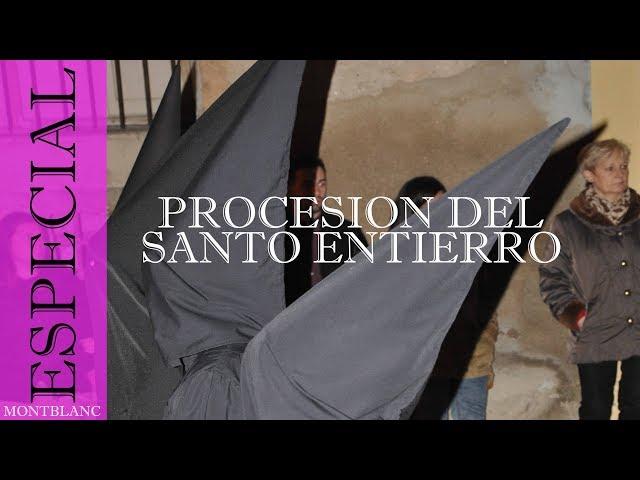 Procesión del santo entierrro Montblanc 2015 #TRAVEL SEMANA SANTA TARRAGONA
