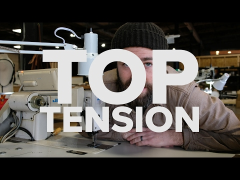 How To Adjust Top Tension on a Sewing Machine | SEWING WITH STEVE!