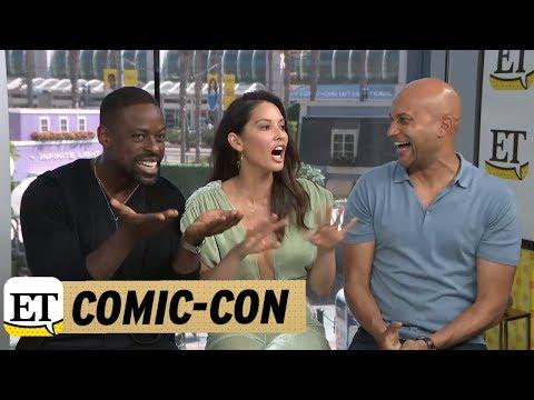 ComicCon 2018: Olivia Munn, KeeganMichael Key, And Sterling K. Brown Talk The Predator