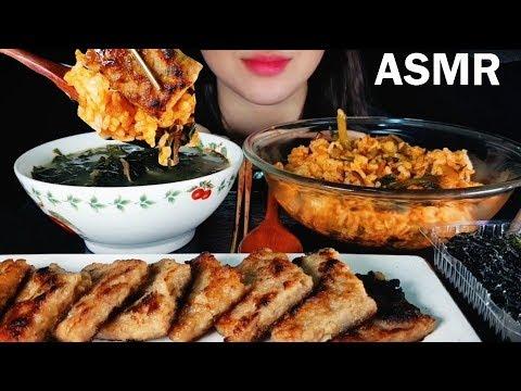 열무비빔밥 & 소고기미역국 & 떡갈비 ASMR MUKBANG EATING SOUND