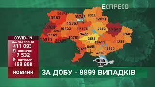 Коронавірус в Украі ні статистика за 3 листопада