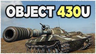 Testing new Object 430U • 1 vs 7 • KOLOBANOV • 9.5K Damage • Test 9.22 World of Tanks