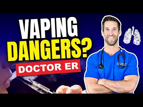 Real Doctor Reacts To Dangers Of Vaping And E-Cigarettes | Medical Myths With Doctor ER