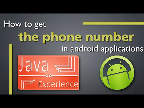 How can I programmatically obtain the number of the Android phone with the  API