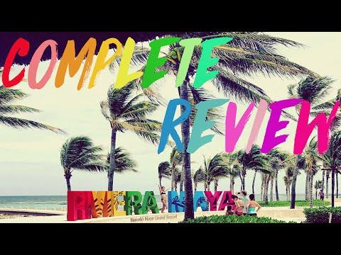 Barcelo Maya Palace Beach Resort Review 2017 With Drone Footage - Riviera Maya Mexico
