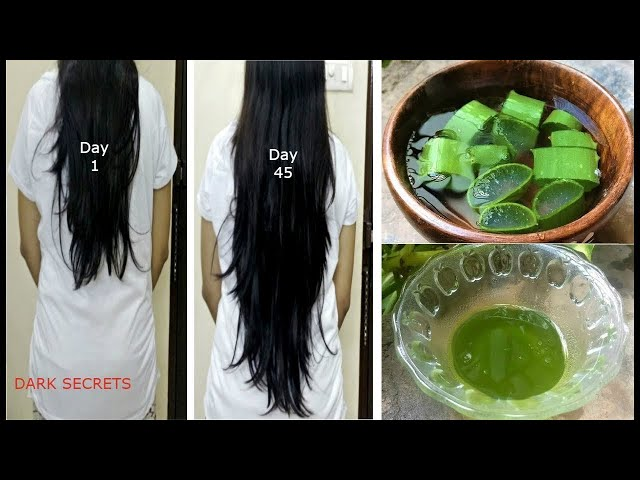 1 ??? ????? ???? ??? ???? ????? ?? ?????? / Aloevera Hair Oil to Get Long hair, No Hair Fall