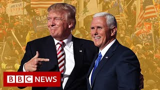 How <b>Mike Pence</b> became a villain in Trump world - BBC News ...