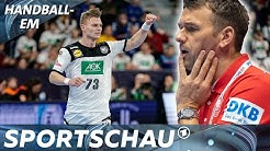 Lustiger Blackout: Handball-Bundestrainer Prokop vergisst Spielernamen | Sportschau