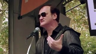Quentin Tarantino Defends Cop Rally Speech: 'Stop Shooting Unarmed People'