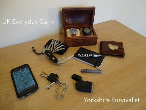 Pocket Everyday Carry- UK