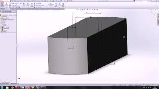 5 Урок. Практика построения 3Д модели по чертежу