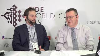 Grischuk on his victory against Xu | FIDE World Cup 2019 | R3, G1 |