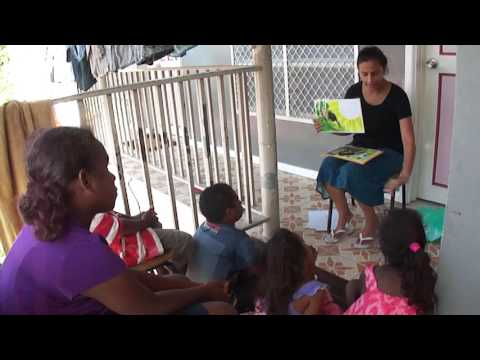 Teaching Children in Solomon Island Pijin
