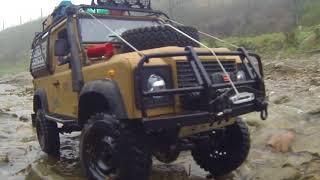 Boom Racing Mud Terrain Trophy Tires on 1.9 Narrow Badass Classic wheels
