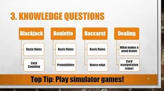Top 5 Casino Dealer Interview Questions and Answers