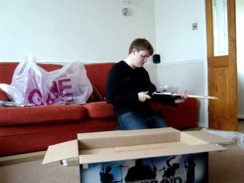 Rock Band- Band in a Box PS3 Unboxing (Part 1 of 2)
